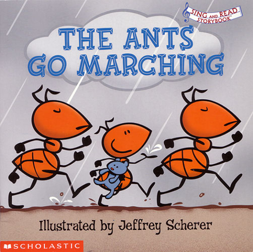 ants go marching coloring pages - photo#31